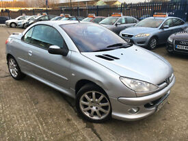 Peugeot 206 2.0 16v ( dig a/c & climate control ) 2005MY Coupe Cabriolet SE