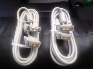 2 COMPUTER CONNECTION CABLES