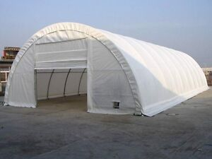 Unused 30 X 65 X 15 round style commercial building