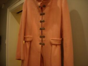 CASHMERE AND WOOL HIGH END HOSS COAT