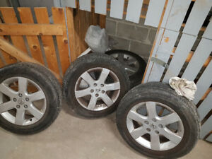 Summer tires 205 65 R16 with Mags
