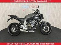 YAMAHA MT-07 MT-07 ABS MODEL WITH 12 MONTH MOT LOW MILEAGE 2014 14