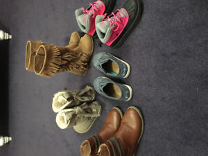 Assorted girls shoes in excellent condition