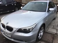 BMW 525D SALOON TOP CONDITION - BLACK LEATHER 2 KEEPERS FSH
