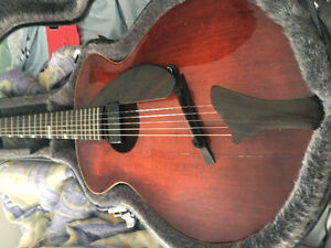 Acoustic electric Eastman guitar for sale
