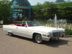 location limousine $250 cadillac decapotable convertible antique