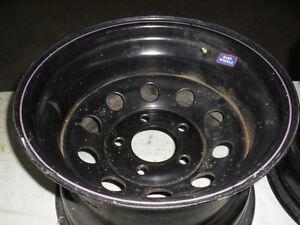 """2x roues de stock car 15""""x10"""" de large"""