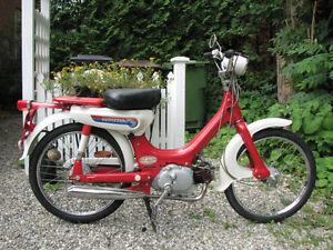 Antique-vintage moto honda PC50 1971