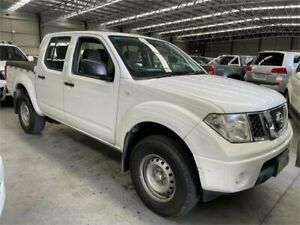 2014 Nissan Navara D40 S8 RX 4x2 White 6 Speed Manual Utility Boolaroo Lake Macquarie Area Preview