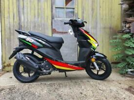 Brand new Neco One 12 50R scooter moped learner legal 50cc sports scooter 4T