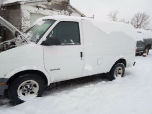 2001 Chevrolet Astro  Cargo Van For Sale !!2495