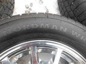 P205/65R15 Nokian Nordman WS on Taurus Alloy Wheels Regina Regina Area image 6