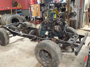 1980 jeep cj7 motor,transmission and an extra motor