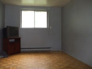 Renovated 4 1/2 - semi-basement at Lachine private parking