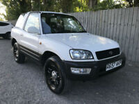 1998 Toyota RAV4 2.0 16v GX 3 DOOR MANUAL 4X4 60k 34.9 MPG PX
