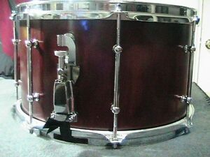 """2004 GTC Custom HandCrafted in USA Birch 8X14"""" Snare .Tube Lugs."""