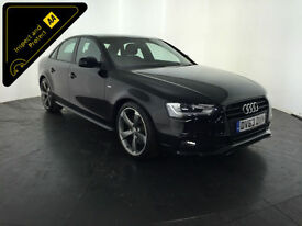 2013 63 AUDI A4 S LINE BLACK EDITION TDI 1 OWNER SERVICE HISTORY FINANCE PX