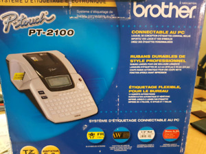 Brother PT-2100 -  PC Connectable, P-Touch Labeler