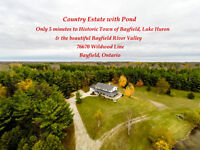 Bayfield Country Estate Home
