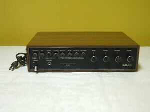 Sony TA-70 Integrated Amplifier Vintage Rare