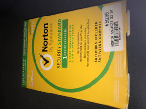 Norton Anti-virus -  Not opened still in original package