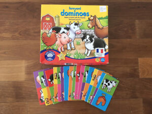 Farmyard Dominoes (ages 3-6) from Orchard Toys