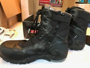 Rocky Men's First Med Boots, size 13,  Black