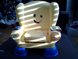 Chaise musicale Fisher Price