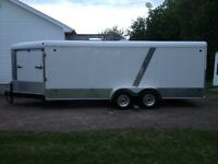 24' United Enclosed Trailer