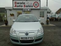 2009 VOLKSWAGEN POLO 1.4 BLUEMOTION 2 AC TDI - 84,539 MILES - FREE ROAD TAX