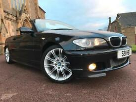 *3 MTHS WARRANTY*2004(54)BMW 320 CI SPORT CONVERTIBLE WITH PRIVATE PLATE*