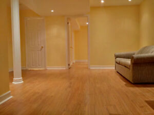 1 Bedroom basement apartment with separate entrance