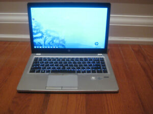 HP laptop with Core i5 CPU: 8gb RAM and 256gb SSD