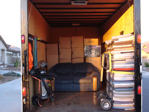 Mover  $60/- per hour with two helpers and Truck