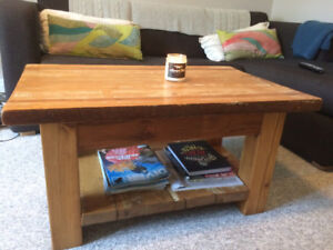 Rustic Style Salvaged Wood Coffee Table