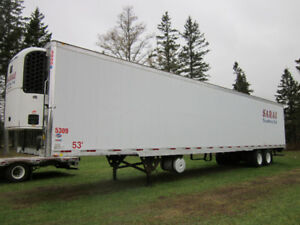 Reefer Trailers and stepdeck