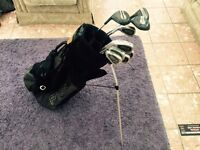 Dynatour left handed golf club and ping bag