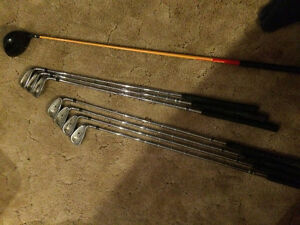 180 OBO Right Handed Wilson Killer Whale Irons with Driver