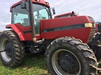 Tractors,bin piler,combine & skid steere. Prices are neg.