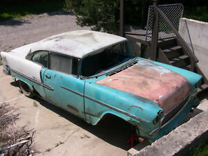 1955 Chev 2 Door Hardtop/Sports Coupe Project