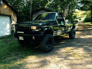 Lifted 1995 Ford F-150 Manual