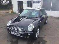 Mini Cooper manual petrol 2005 on the 55 plate fun car to drive!!!