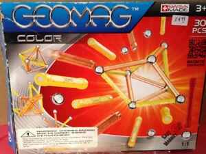 Géomag; construction magnétique