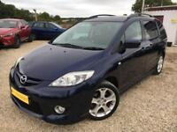 MAZDA 5 SPORT Blue Manual 2.0 Petrol, 7 Seats, 2009
