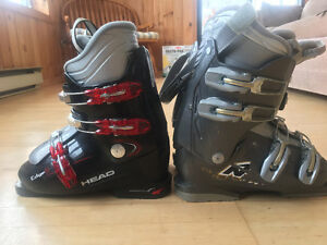 2 pairs of ski boots $35 each or both for $60