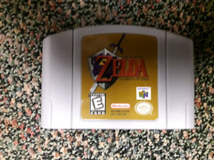 Zelda Ocarina of time and Banjo Tooie Nintendo 64 games