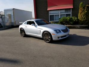 MINT LOW KM 2008 CHRYSLER CROSSFIRE LIMITED CALIFORNIA CAR