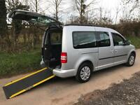 2011 Volkswagen Caddy Maxi Life 1.6 TDI 5dr DSG AUTOMATIC WHEELCHAIR VEHICLE ...
