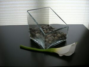 Joli vase transparent