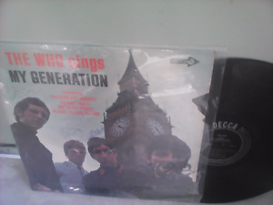 THE WHO-FIRST LP-My Generation-SOLD RANDY